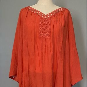 Gently worn woman's embroidered tunic